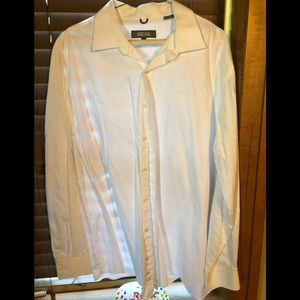 Kenneth Cole Reaction Men's Dress Shirt Button XL
